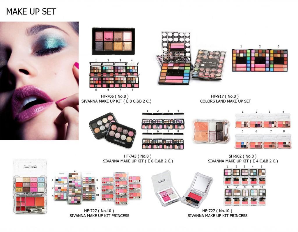 Make up set 2
